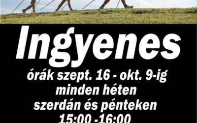 Ingyenes Nordic Walking Sétakör Szentesen