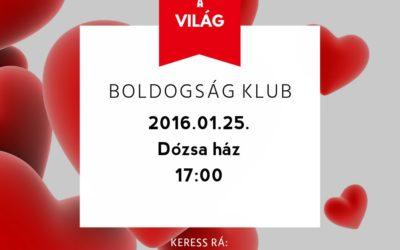 Boldogságklub – 2015.01.25.