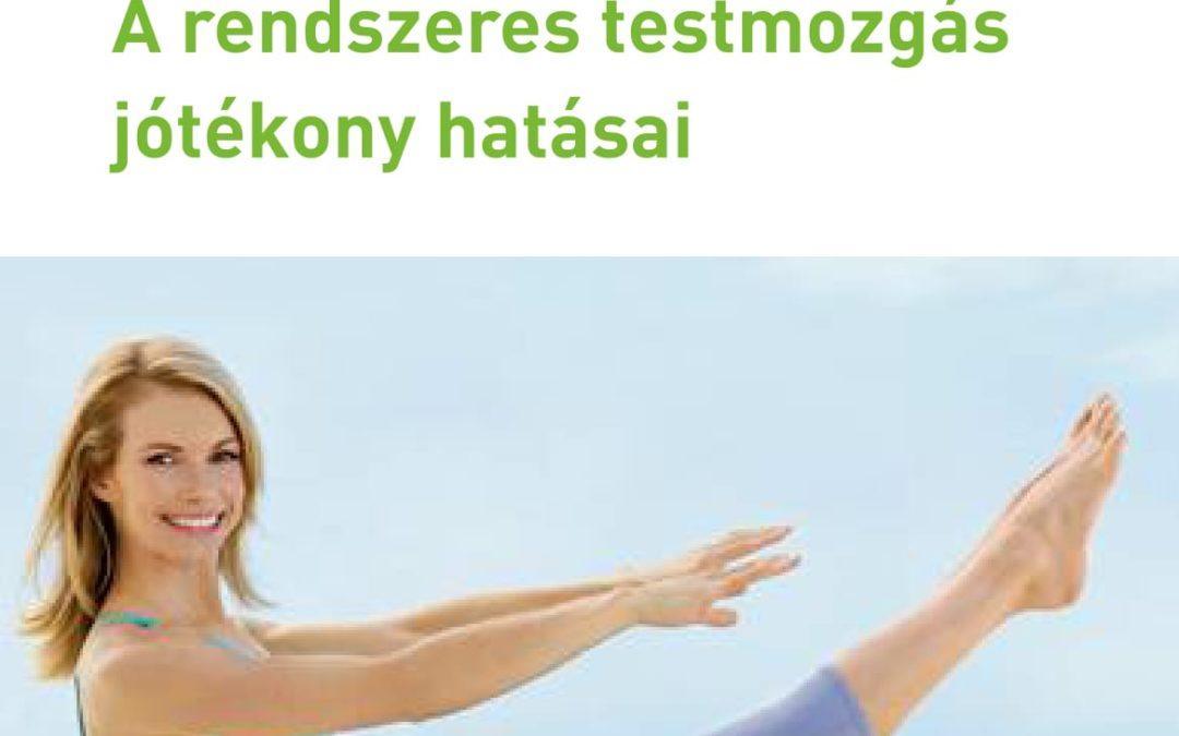 A rendszeres testmozgás jótékony hatásai