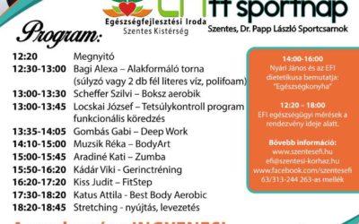 EFITT Sportnap – 2017.09.30.