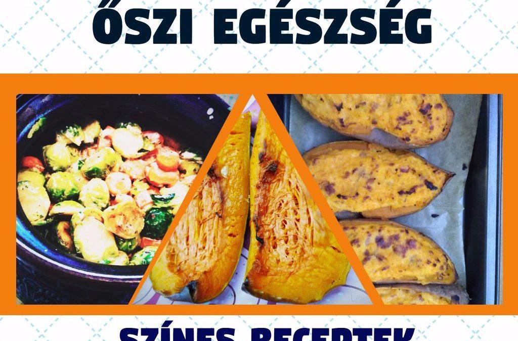 Őszi egészség – színes receptek