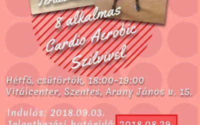 Ingyenes Cardio aerobic Szilvivel – 2018.09.03-tól