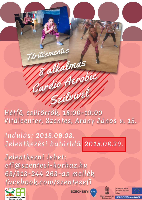Ingyenes Cardio aerobic Szilvivel - 2018.09.03-tól