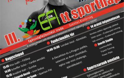 III. EFItt sportnap – 2019.09.29.