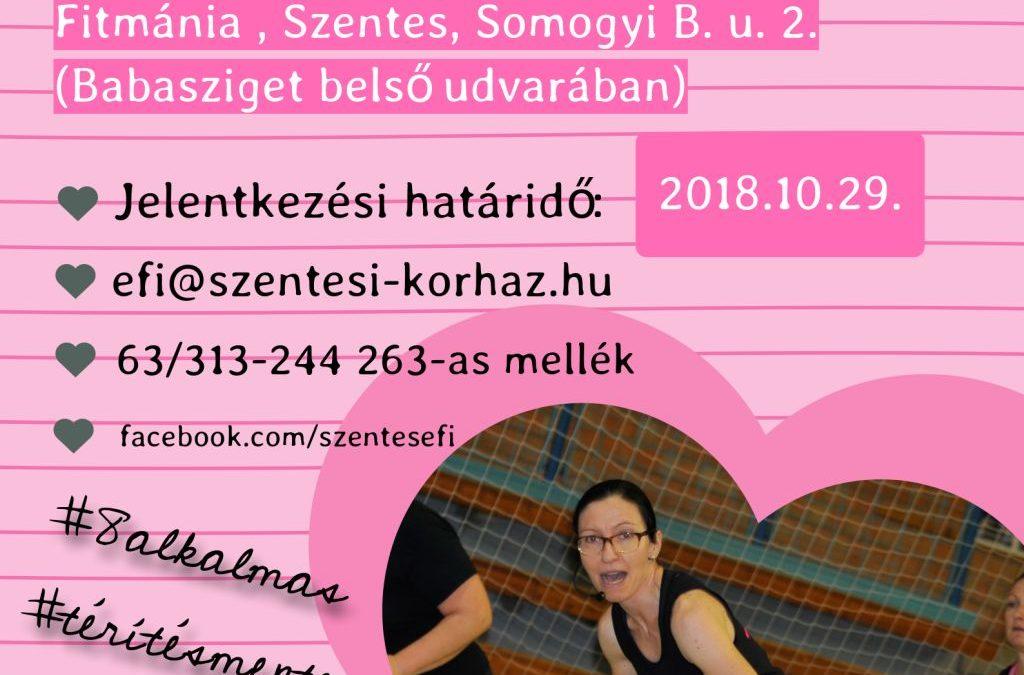 Alakformáló torna Kiss Judittal – 2018.10.31.