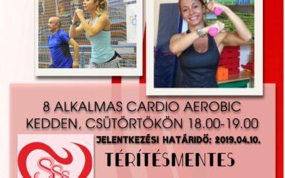 Ingyenes Cardio Aerobic Szilvivel