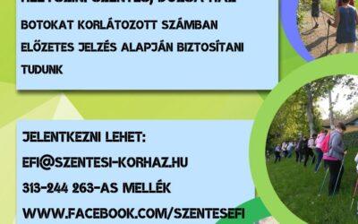 8 alkalmas Nordic Walking sétakör szeptemberben is!