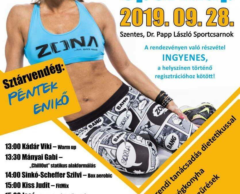IV. EFITT Sport nap – 2019.09.28. Szentes, Dr. Papp László sportcsarnok