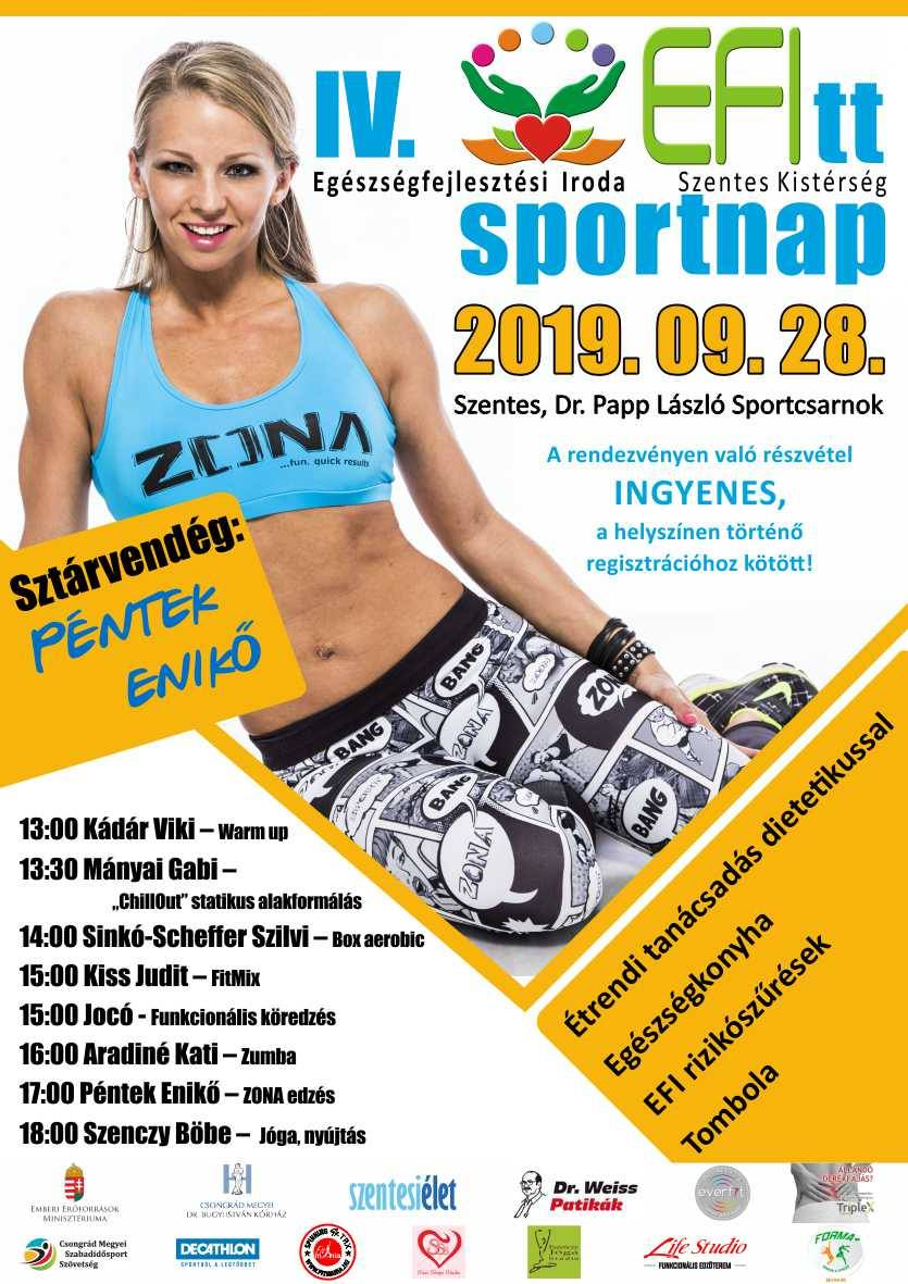 IV. EFITT Sport nap - 2019.09.28. Szentes, Dr. Papp László sportcsarnok