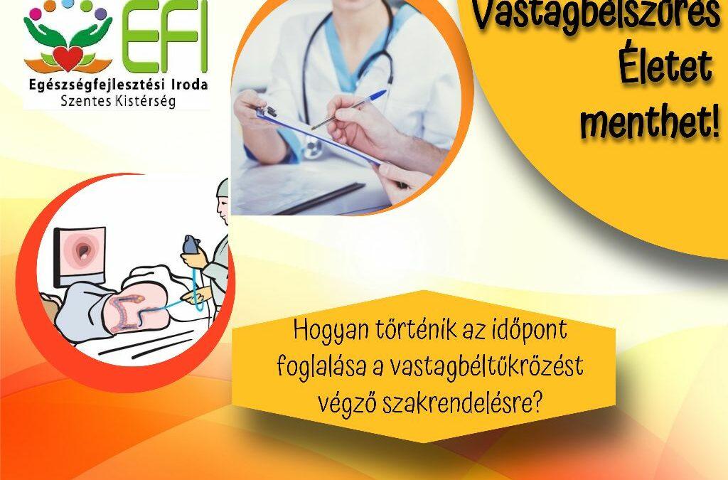 Népegészségügyi szűrések – Vastagbél szűrés – 6. rész